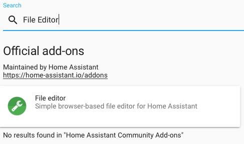 File Editor in Supervisor Install