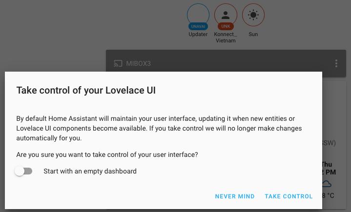 Take control of Lovelace UI