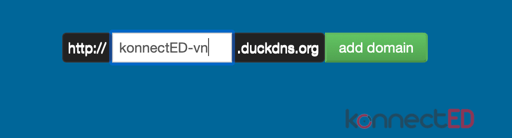 DuckDNS Add Sub Domain