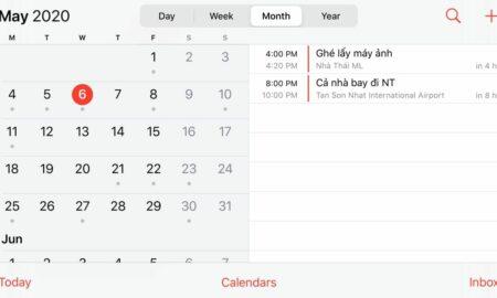 Google Calendar on iOS