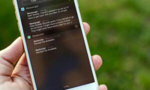Notification on iOS