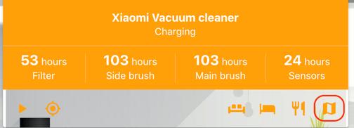 Home Assistant Xiaomi Vacuum Card