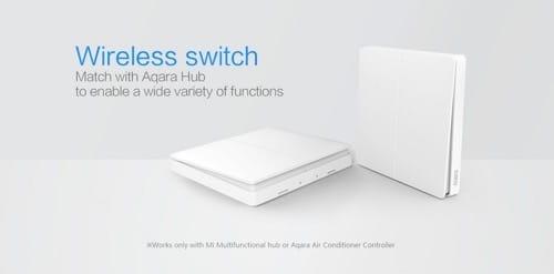 Công tắc thông minh Zigbee Xiaomi Aqara dùng pin