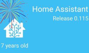 Home Assistant cập nhật